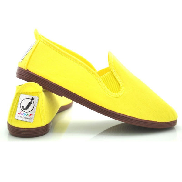 Javer/Flossy Canvas Shoes Kids - Yellow - Gabskia