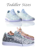 Forever Fashion Glitter Tennis Shoes (Toddler Sizes) - Gabskia