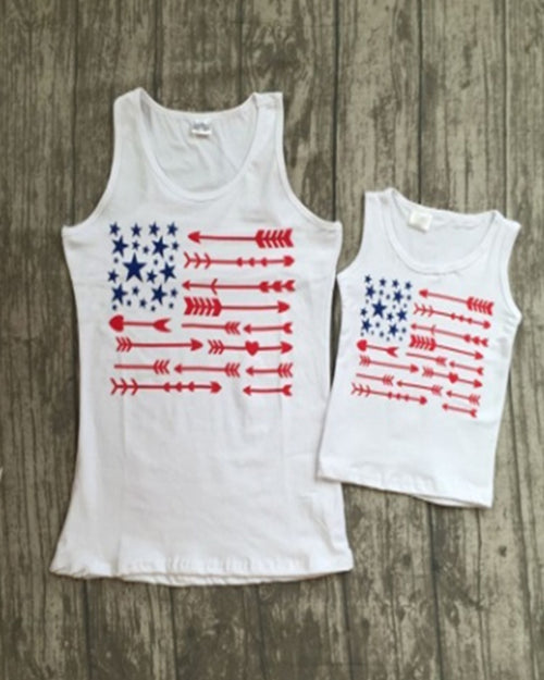 Independence Tank Top - Mommy and Me - Gabskia