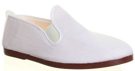Javer/Flossy Canvas Shoes Adult - White