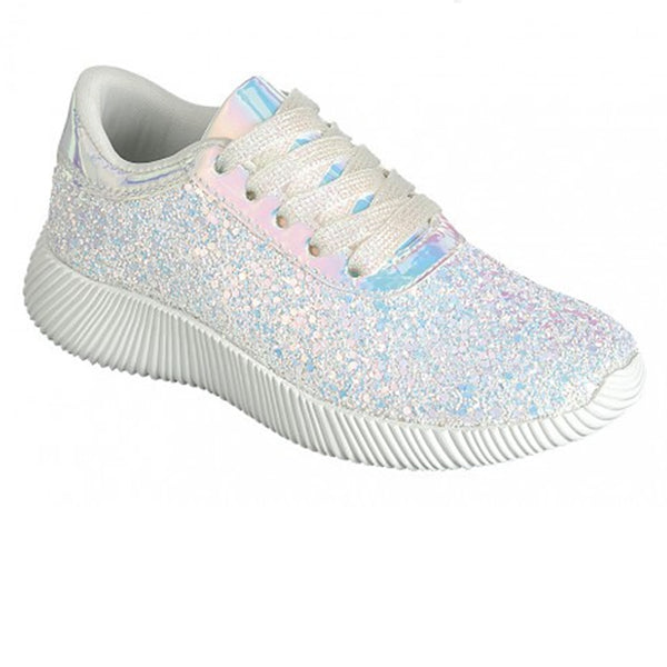 Forever Fashion Glitter Tennis Shoes