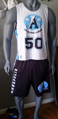 Sublimated Boys and Mens Lacrosse Uniforms Custom