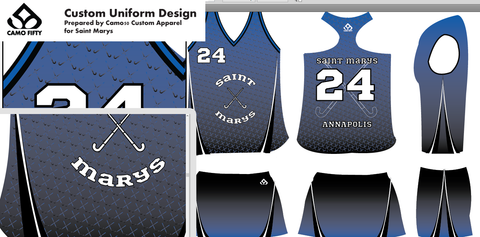 Custom Field Hockey Uniforms by Camo50