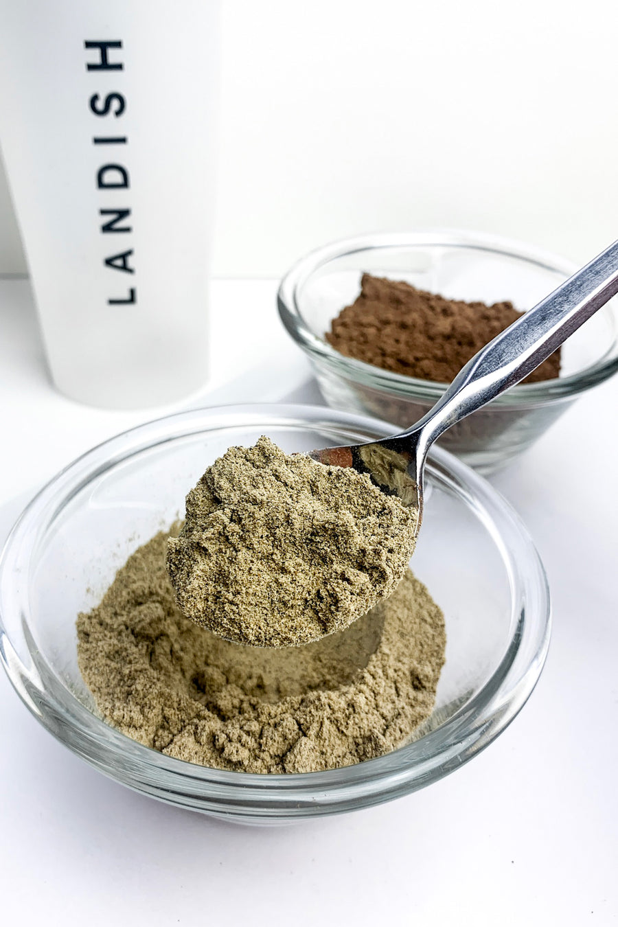 Functional Protein Powder Made With Reishi Mushrom Chai
