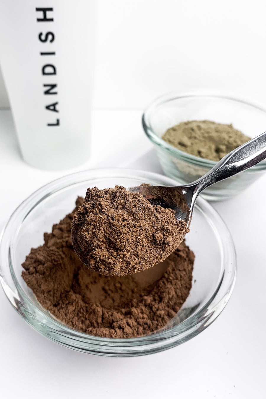 Functional Protein Powder Made With Reishi Mushroom Chocolate