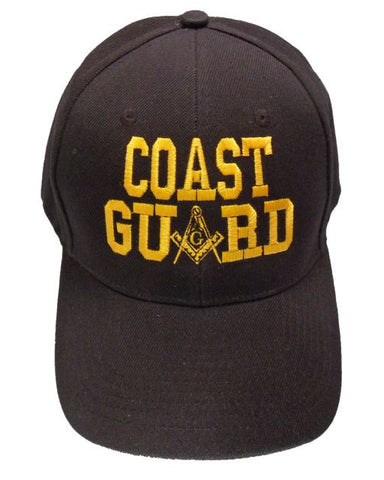 Masonic Baseball Cap - Coast Guard