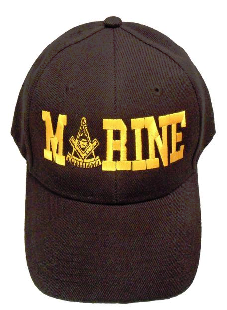 Masonic Baseball Cap - Marine Past Master