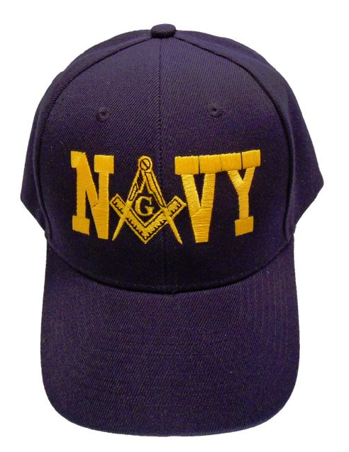 Masonic Baseball Cap - Navy Blue
