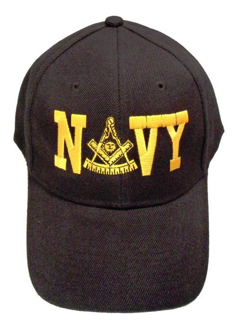 Masonic Baseball Cap - Navy Past Master