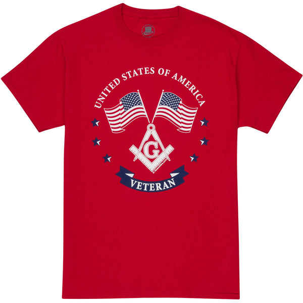 Masonic RED Shirt Friday - Veteran