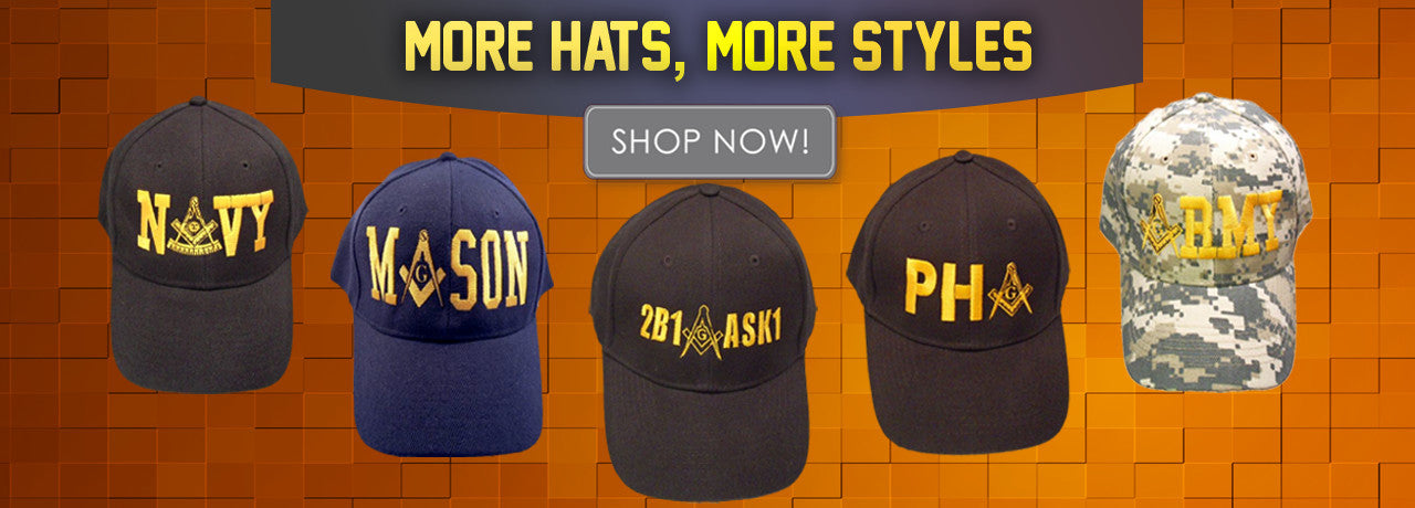More Hats, More Styles, Shop Now