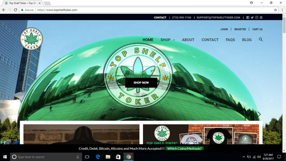 Top Shelf Toker® Site Has A New, Sleek Look!