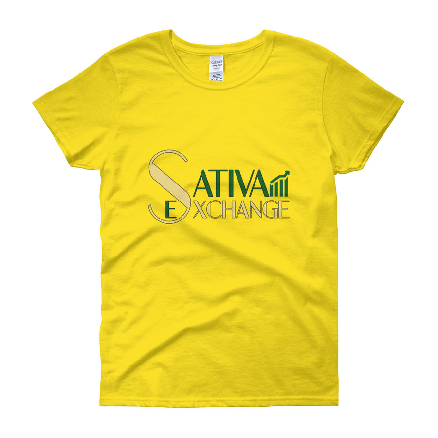 Sativa Exchange™ Women's short sleeve t-shirt