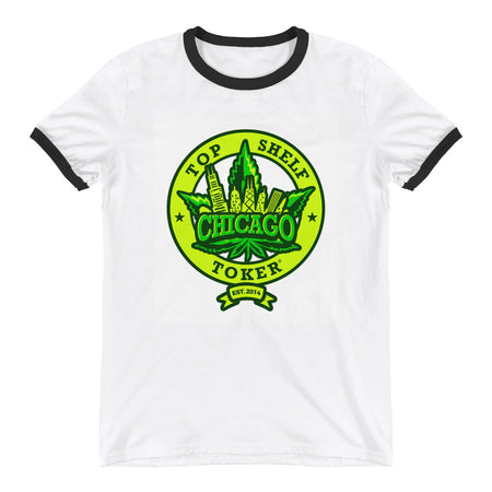 """Chi-Town is My Town"" Ringer T-Shirt"