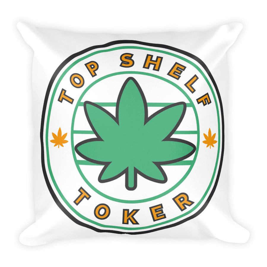 Top Shelf Toker® Square Pillow