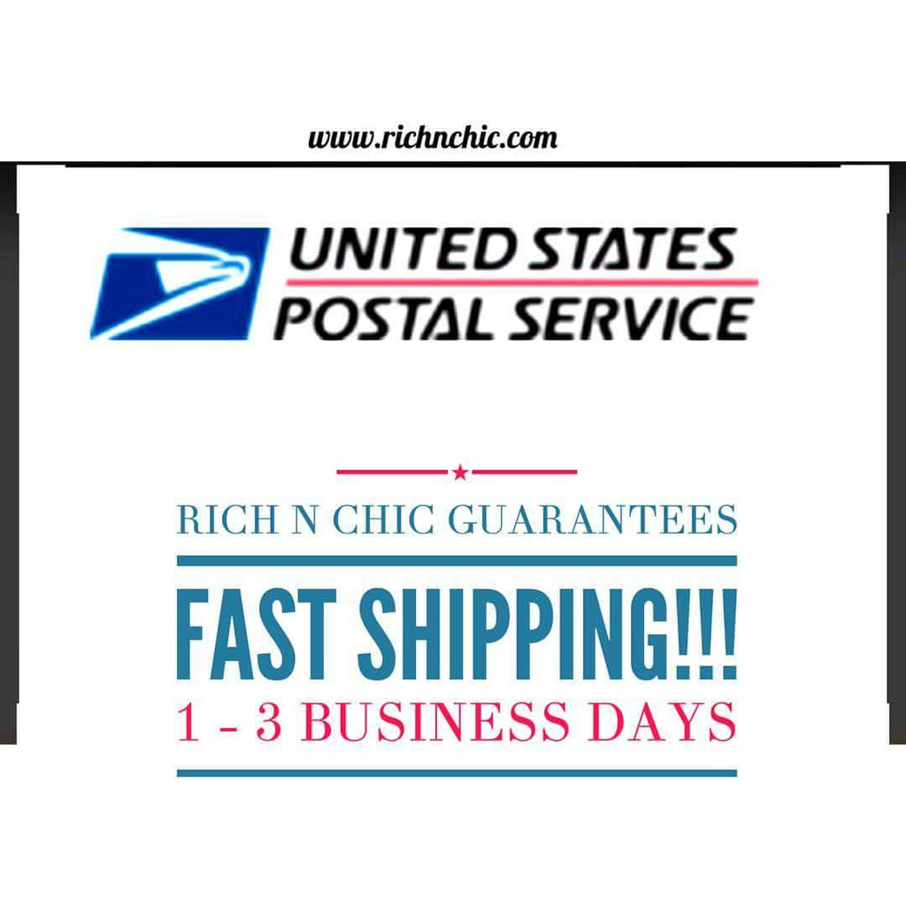 "Rich N Chic ""Fast Shipping Guarantee"""