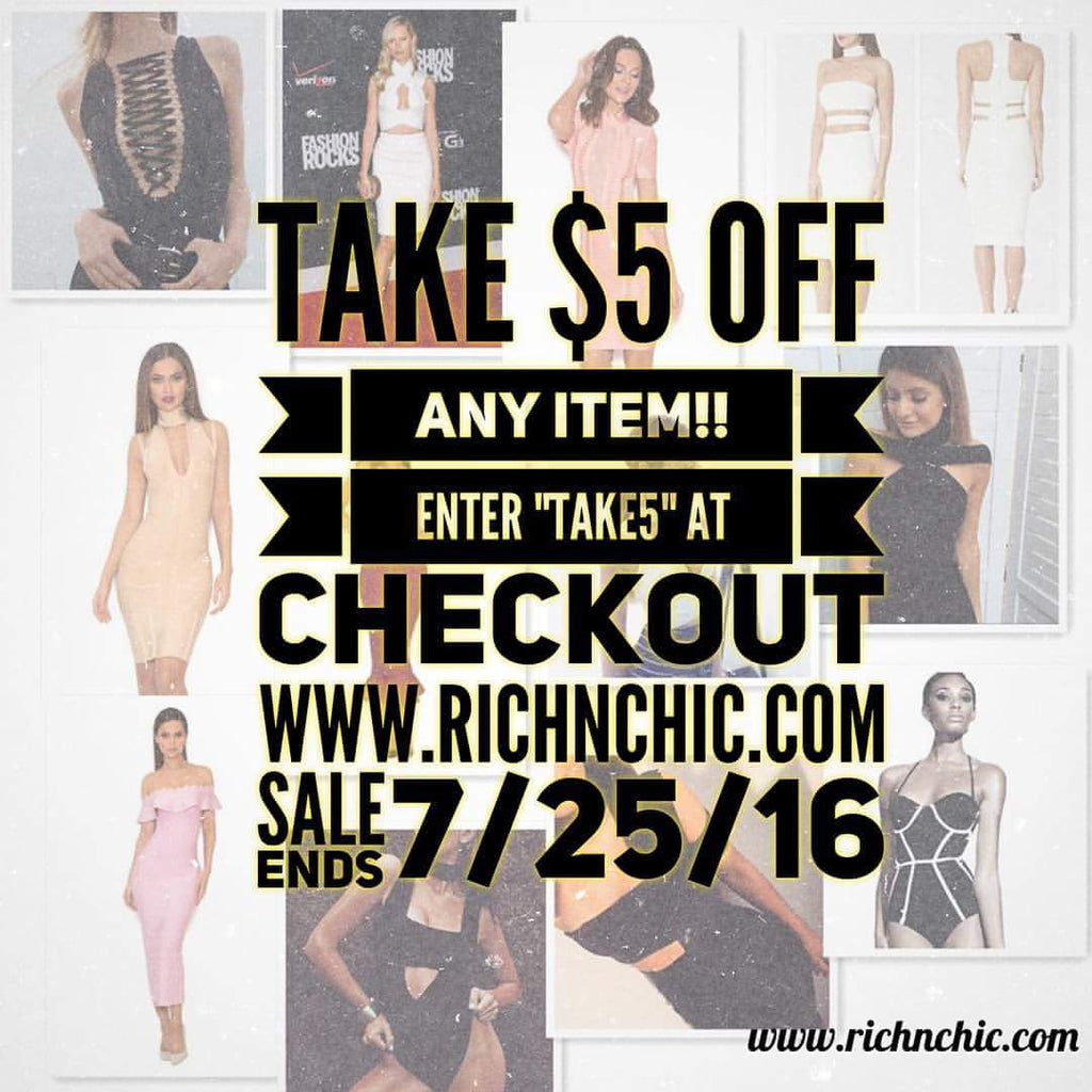 Rich N Chic Atlanta Clothing Boutique Sale