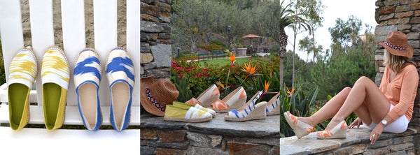 OlaSoles Espadrilles Featured in the San Francisco Chronicle