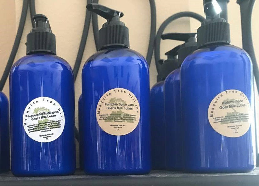 Mesquite Tree Hill Goat Milk Lotions