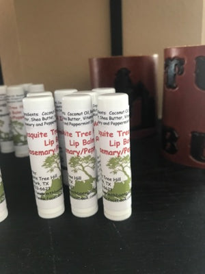 Mesquite Tree Hill Rosemary and Peppermint Chapsticks