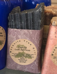 Mesquite Tree Hill Charcoal Goat Milk Soap