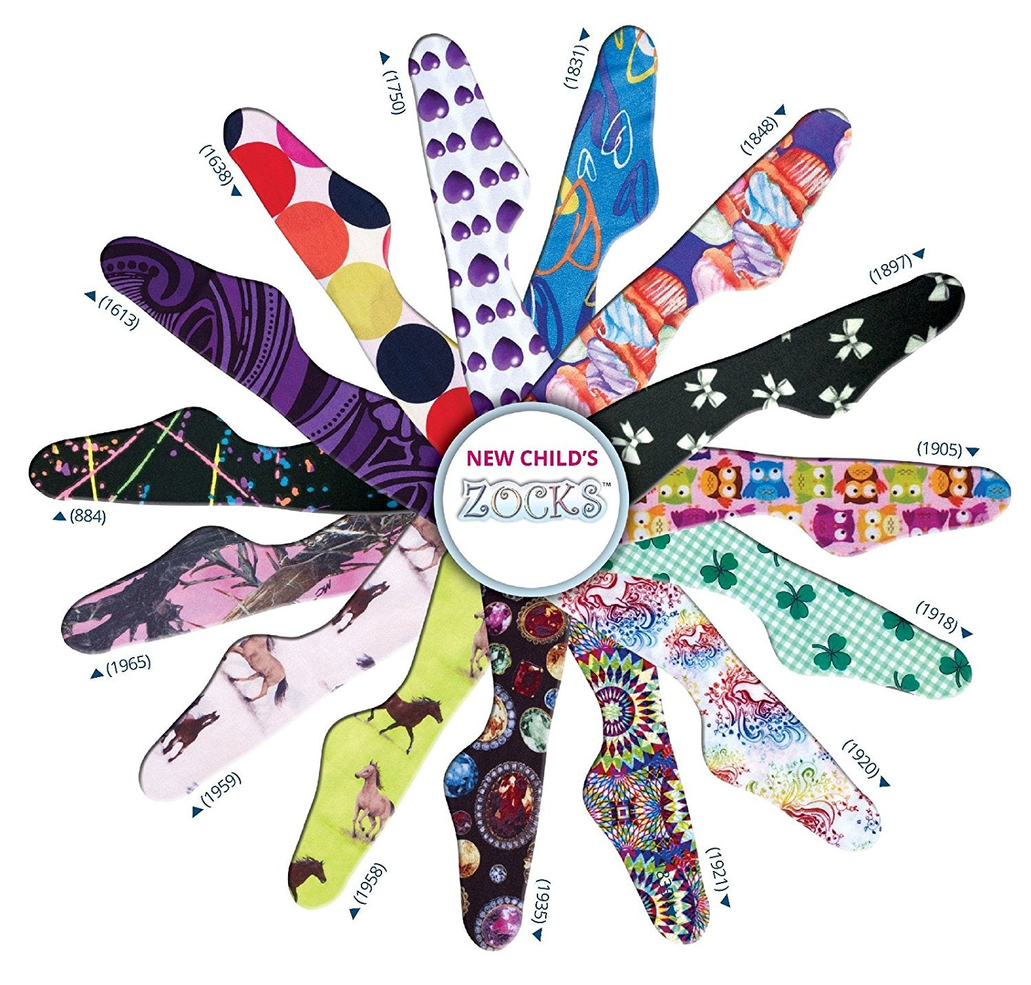 Children's Zocks Boot Socks