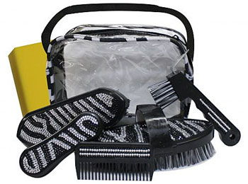 Bling Zebra Grooming Set