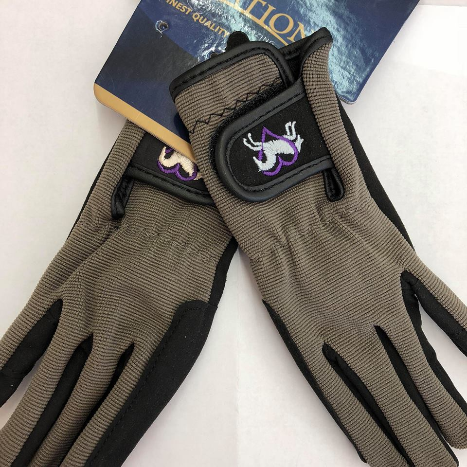 Children's Heart and Horse Riding Gloves