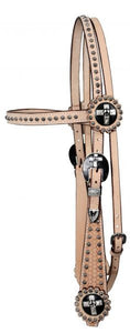 Decorative Cross Tack Set by Showman