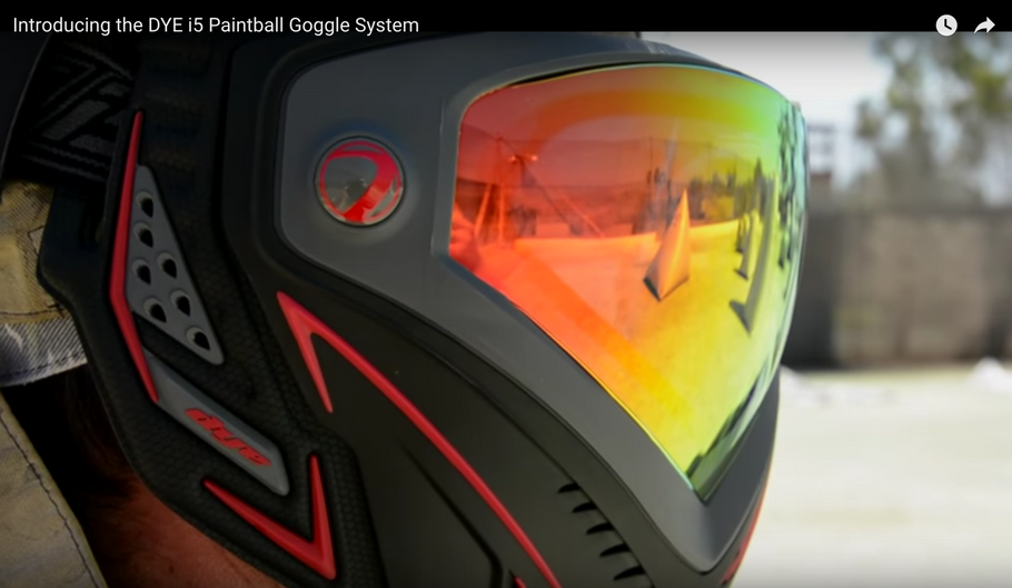 Dye i5 Paintball Goggles | The Future of Paintball Has Arrived