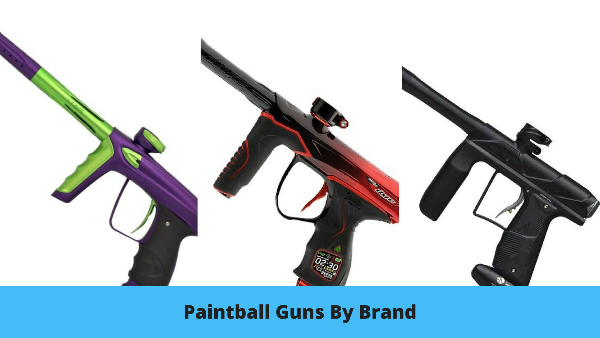 Paintball Guns By Brand