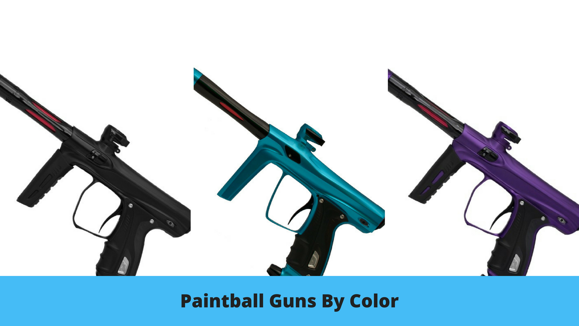 Paintball Guns by Color