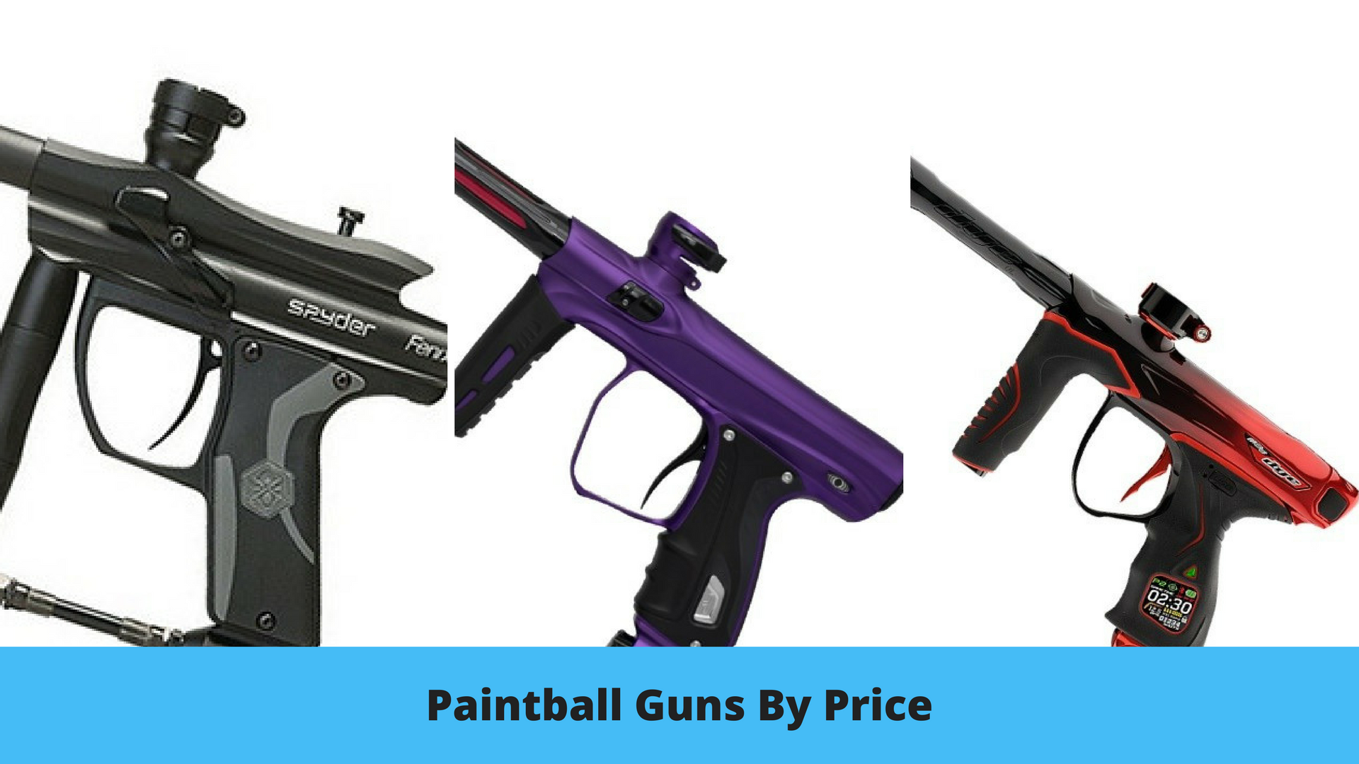 Paintball Guns by Price