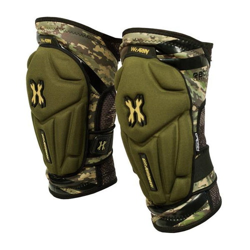 HK Army Crash Knee Pads - Camo - Small