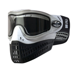 Photos of Empire E-Flex Paintball Goggles - White. Photo taken by drpaintball.com