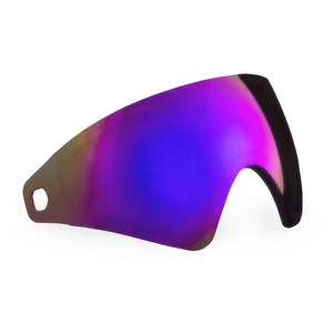 Virtue VIO Thermal Lens - Replacement Paintball Goggle Lens - Purple