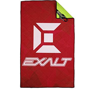 Photos of Exalt Microfiber - Team Size - Crystal Red. Photo taken by drpaintball.com