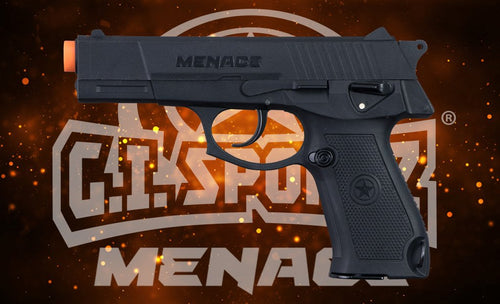 Photos of GI Sportz Menace .50 Caliber Paintball Gun - Black. Photo taken by drpaintball.com