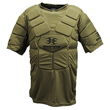 Photos of Empire BT Chest Protector - Olive - Large/XL. Photo taken by drpaintball.com