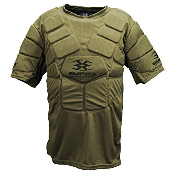 Photos of Empire BT Chest Protector - Olive - Small/Medium. Photo taken by drpaintball.com