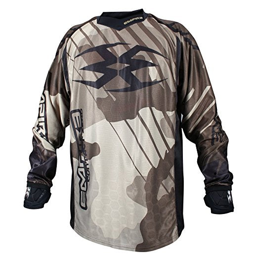 Photos of Empire Contact Zero F6 Jersey - Camo - 2XL. Photo taken by drpaintball.com