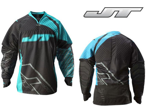 Photos of JT FX 2.0 Paintball Jersey - Blue - Large/XL. Photo taken by drpaintball.com