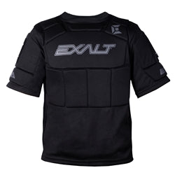 Photos of Exalt Alpha Chest Protector - Black - Large/XL. Photo taken by drpaintball.com