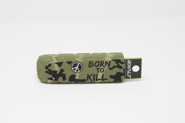 Photos of Exalt Paintball Barrel Cover - Born to Kill. Photo taken by drpaintball.com