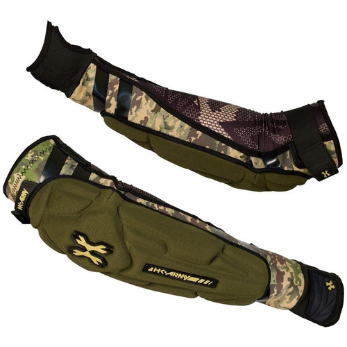 HK Army Crash Elbow Pads - Camo - Large