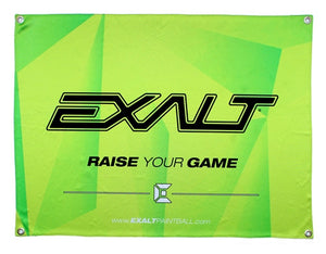 Exalt Paintball Banner - Lime