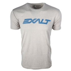 Photos of Exalt Paintball T-Shirt - OG Grey - Small. Photo taken by drpaintball.com