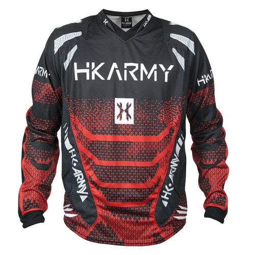 Photos of HK Army Freeline Jersey - Fire - Small. Photo taken by drpaintball.com