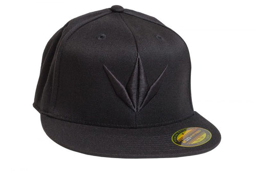 Photos of Bunker Kings Hat - Flex Fit 3D Cap - Black - L/XL. Photo taken by drpaintball.com