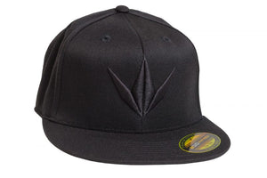 Photos of Bunker Kings Hat - Flex Fit 3D Cap - Black - S/M. Photo taken by drpaintball.com